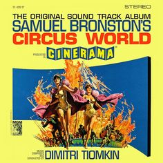 """""""Circus World"""" (1964, MGM).  Music from the movie soundtrack."""