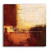 pintados a mano, pintura al óleo abstracta co... – USD $ 59.99