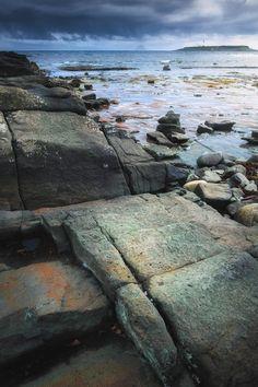 Kildonan, Isle of Arran, Scotland by Ian Cylkowski.