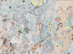 """Nancy Graves, """"Fra Mauro Region of the Moon"""" (1972), from the series 'Lithographs Based on Geologic Maps of Lunar Orbiter and Apollo Landing Sites' (courtesy Harvard Art Museums/Fogg Museum, © Nancy Graves Foundation, Inc. / Licensed by VAGA)"""
