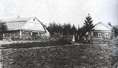 Верхние Никулясы — двор Матти Тиинуса. 1921