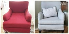 How to use chalk paint to paint an upholstered chair | 11 Magnolia Lane