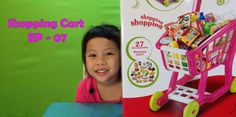 Home Shopping Cart 27 items Kids Toys Surprise