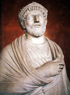 Julian the Apostate. Roman Emperor from 361-363. The last defender of the old Roman Gods was Constantine's nephew Julian.