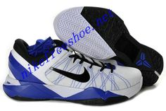 best sneakers f9a9e 6bbac Nike Zoom Kobe 7 Colorways Shoes For Sale Supreme White Royal Blue Black  488244 100 Kobe