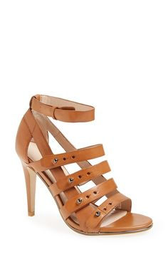 Wardrobe staple - Tan caged sandal