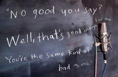 "Lyrics from ""Bad As Me,"" Tom Waits' upcoming album"
