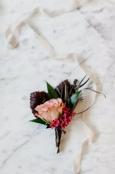 Boutonniere With Fall Foliage, Veronica and Hypericum Berries Longmont Colorado, Plum Wedding, Urban Chic, Wedding Story, Wedding Pictures, Real Weddings, Floral Wreath, Burgundy, Wreaths