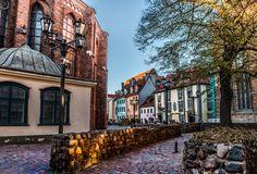 Old street of Riga by Svetlana Stasaite on 500px