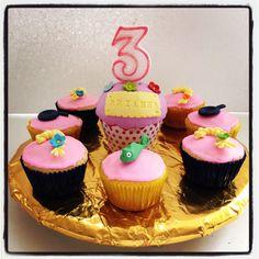 Cupcakes Rapunzel #tangled