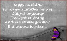 89 Awesome Happy Birthday Wishes For Grandfather images | Happy