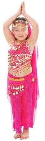 02a692695 Arabian Princess Girls Belly Dancer / Bollywood Costume - DARK PINK  bellydance.com also comes