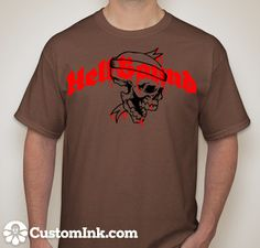 Hellbound T-Shirt designed by Brandon W. Burton