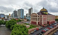 World Cup Venues - Portugal v USA in Manaus. Manaus, 1,770 miles northwest of Rio de Janeiro, is smack in the middle of the Amazon jungle. The sweltering city won't win awards for architectural beauty or convenience, but the opportunities for exploring its raw natural surroundings and outstanding local cuisine make the trip worthwhile.