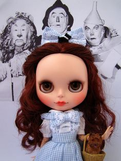 Custom caracterizada Dorothy Gale - The Wizard of Oz by ***MADAME MIX***, via Flickr