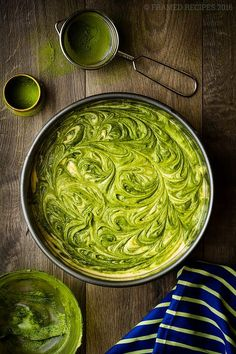 This scrumptious Grinch-inspired Matcha Butter Cake is moist, subtly sweet, light, fluffy and spongy – perfect for your holiday baking. But you don't have to make it only for holidays, it is simple enough to be baked for any special occasion. This is a simple butter cake with Matcha Green Tea swirls. Yummy Matcha marbled cake. Easy holiday cake recipe.