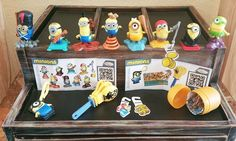 Full Minion Kinder Surprise Toy Collection 2015 ~ All 11 pcs  #KinderFerrero
