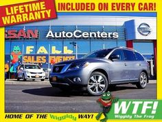 2015 Nissan Pathfinder 4WD Platinum - Entertainment Package For Sale | Wood River IL | Alton, O'Fallon and Edwardsville Area | 5N1AR2MM3FC610237