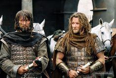 King Arthur (2004) Mads Mikkelsen as Tristan and Joel Edgerton as Gawain