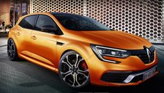 2017 Renault Megane RS - front view