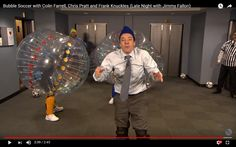 Jimmy Fallon from the Late Night hates Bubble Football! – No. 1 Bubble Football in Krakow | Stag & Hen Party Ideas!
