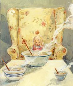 Goldilocks and the Three Bears - Claire Fletcher. Repinned by www.mygrowingtraditions.com