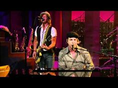 Gavin DeGraw   In Love With A Girl Live On Letterman