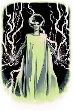 Frankenstein's Bride by Kalman Andrasofsky *