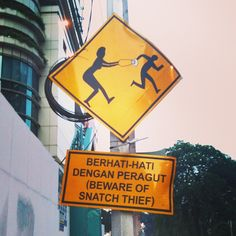 Another interesting sign...this one is from Malaysia via @Runaway Juno