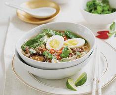 Ramen   Recepty Albert Pak Choi, Ramen, Meat, Chicken, Food, Essen, Meals, Yemek, Eten