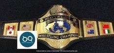 Ufc Belt, Wwe Championship Belts, Wwe Belts, Hulk Hogan, Ultimate Fighting Championship, Professional Wrestling, Brass Metal, Real Leather, Etsy Shop