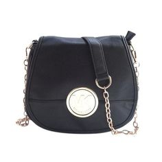 Michael Kors Fulton Pebbled Logo Large Black Crossbody Bags Are High Quality And Cheap Price!