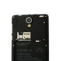 Acquista nuovi CUBOT S222 Smartphone MTK6582 1.3GHz Quad Core 5.5 pollici HD IPS Android 4.2 3G a buon prezzo su AndroidSky.it. http://www.androidsky.it/goods.php?id=48