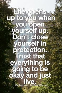 Dont close yourself...