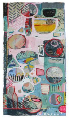 "Saatchi Art Artist Anna Hymas; Painting, ""Dinner Set for Seven"" #art"