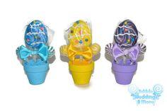 Easter Egg Mini Lollipop Arrangement Easter Gift by EdibleWeddings, $3.99