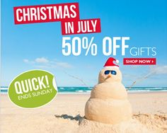 Christmas In July!50% Off Gifts @ The Body Shop