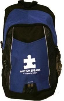 Backpack from Autism Speaks