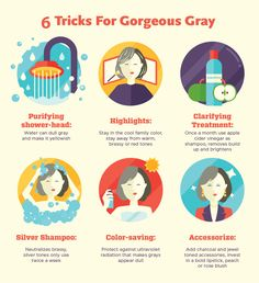 Having A Moment: Striking, Sexy Gray Hair | Anti-Aging Tips