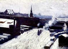 The Station, by Dennis Miller Bunker.