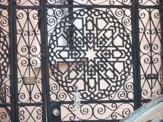 A lovely example of Charleston's wrought iron. Metal Gates, Iron Art, Charleston Sc, Wrought Iron, South Carolina, Real Estate, Acceptance, Quilling, Pictures