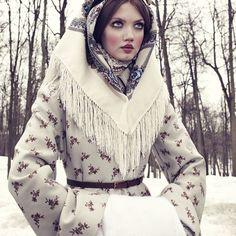 Lindsey Wixson for Vogue Japan