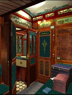 """The Orient Express Public """"Facilities"""" http://jordanmechner.com/wp-content/uploads/2008/10/compart.jpg"""
