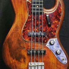 Vintage stack knob fender Jazz bass
