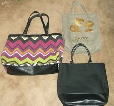 Missoni, Calvin Klein and Marc Jacobs Shopper Tote Bags #MissoniCalvinKleinandMarcJacobs #TotesShoppers