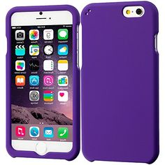 """myLife Spring Flower Petal Purple {Professional, Modern and Stylish} 2 Piece Snap-On Rubberized Protective Faceplate Case for the NEW iPhone 6 Plus (6G) 6th Generation Phone by Apple, 5.5"""" Screen Version """"All Ports Accessible"""" myLife Brand Products http://www.amazon.com/dp/B00UB436S8/ref=cm_sw_r_pi_dp_0lAhvb0VKMJJB"""