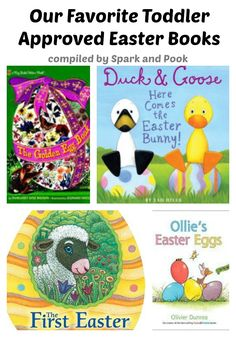 See why these are our favorite toddler Easter books Toddler Age, Toddler Books, Childrens Books, Fun Activities For Toddlers, Book Activities, Preschool Books, Preschool Ideas, Easter Crafts, Easter Ideas