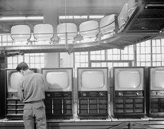 Ezra Stoller, 1953, CBS Columbia, Long Island City, N.Y.