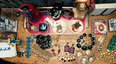 """""""I have been scouring Italy for interesting vintage clothing and jewelry finds for several years now."""" http://www.thecoveteur.com/jj-martin-milan/"""