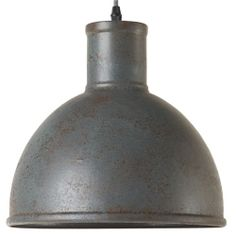 Retro hanglamp Acido vintage grijs van KS Verlichting kopen | LampenTotaal
